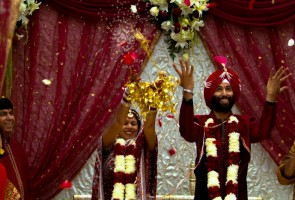 Photo Friday: Our Big, Fat, Desi Wedding!