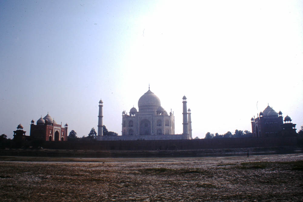 The Taj Mahal from 2002