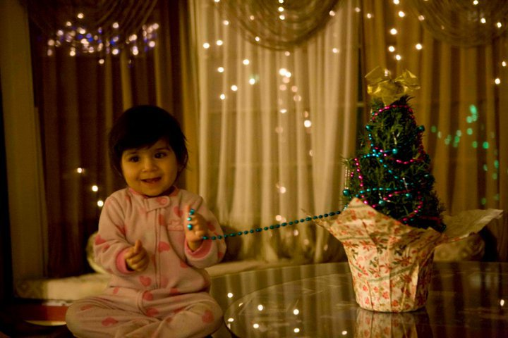 Kavya's First Christmas