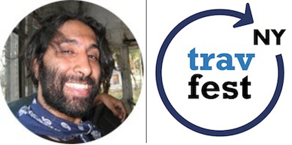 Navdeep Singh Dhillon Speaking at the New York Travel Festival!