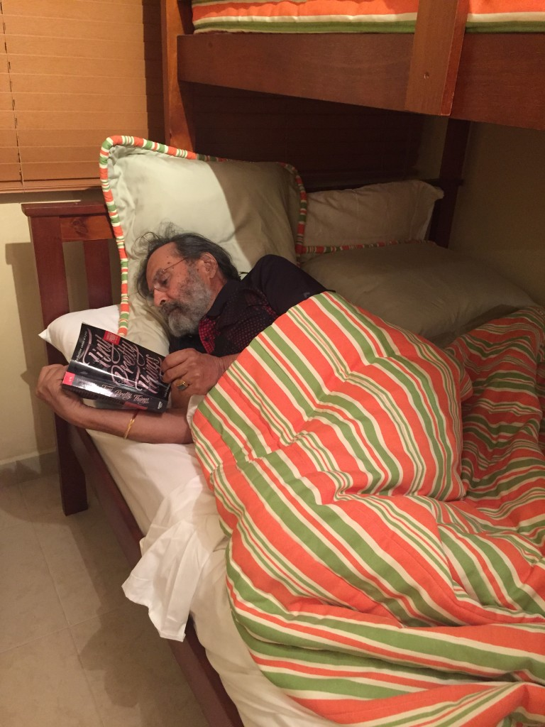 To the Bunk-Bed! With the novel.