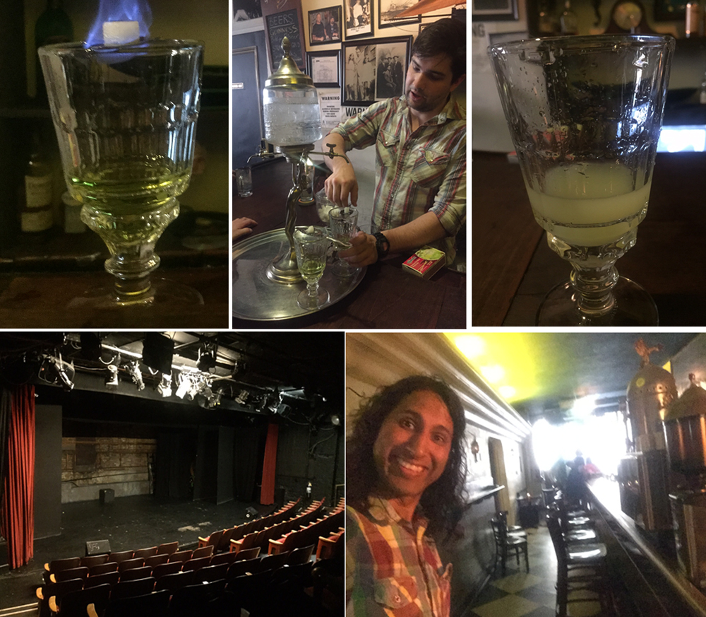 Absinthe at William Barnacle Tavern!